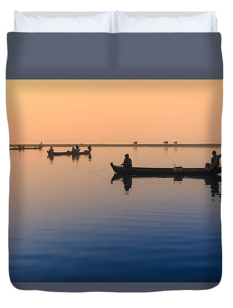 Dawn, Amarapura Duvet Cover