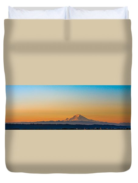Dawn Breaks Duvet Cover