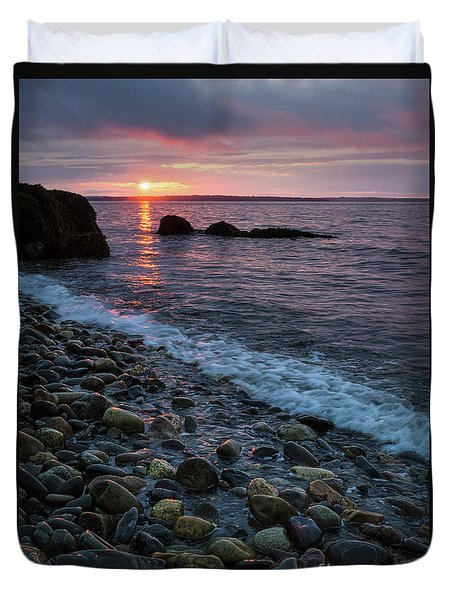 Dawn, Camden, Maine  -18868-18869 Duvet Cover