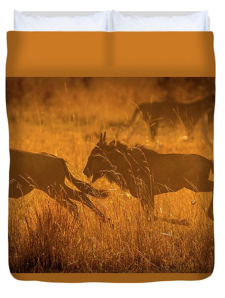 Dawn Chase Duvet Cover