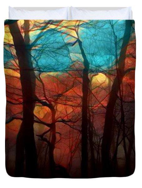 Dawn Comes Duvet Cover