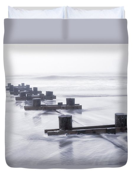 Dawn Fog Duvet Cover