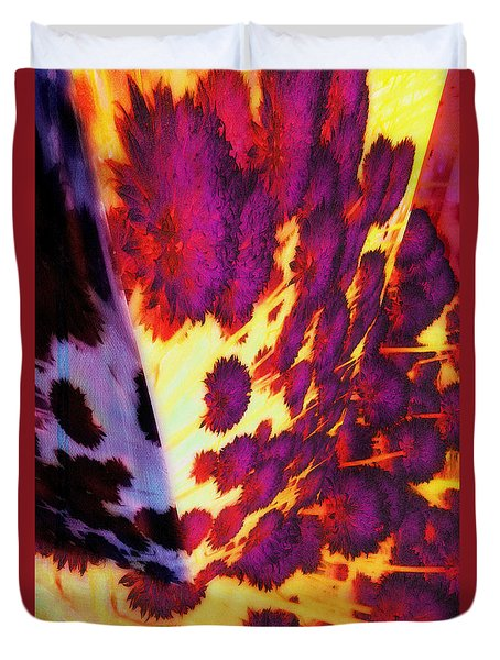Dawn In Hell Duvet Cover