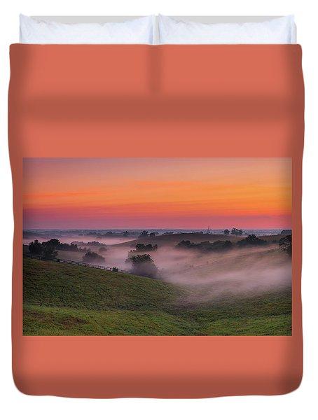 Dawn In Kentucky Duvet Cover