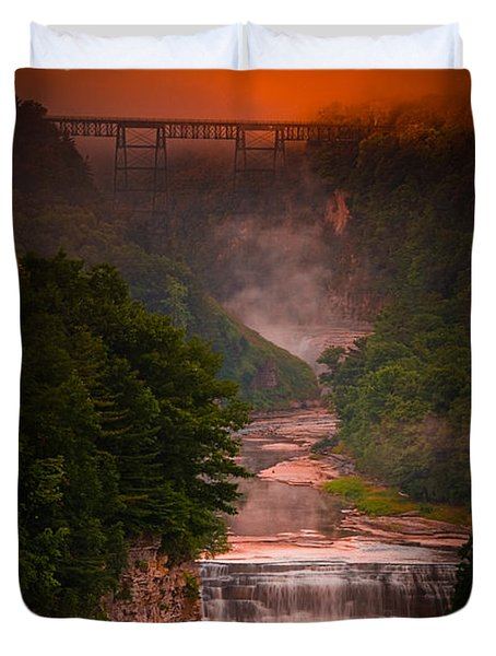 Dawn Inspiration Duvet Cover
