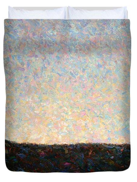 Dawn Duvet Cover by James W Johnson