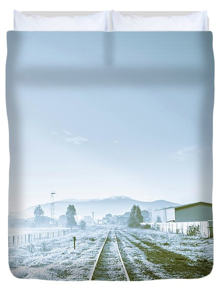 Dawn Line Duvet Cover