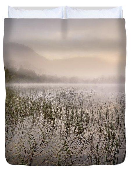 Dawn Mist - Loch Achray 2 Duvet Cover