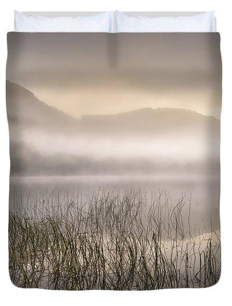 Dawn Mist - Loch Achray 1 Duvet Cover