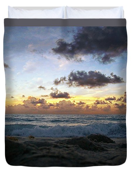 Dawn Of A New Day 141a Duvet Cover by Ricardos Creations