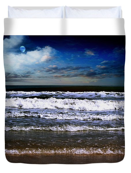 Dawn Of A New Day Seascape C2 Duvet Cover
