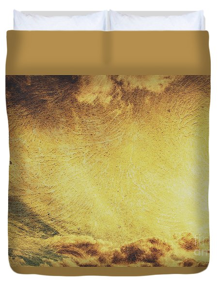 Dawn Of A New Day Texture Duvet Cover