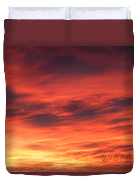 Dawn Of Color Duvet Cover