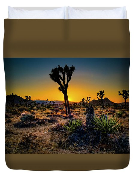 Dawn Of The Morning Duvet Cover