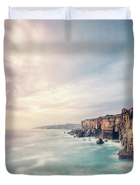 Dawn Of The Night Duvet Cover
