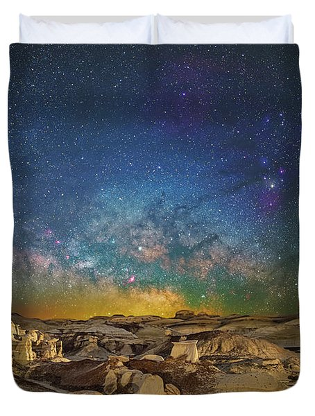 Dawn Of The Universe Duvet Cover
