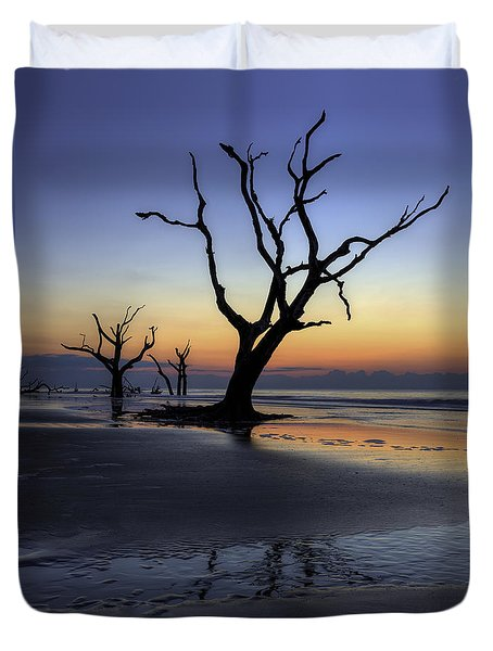 Dawn On Bull Island Duvet Cover
