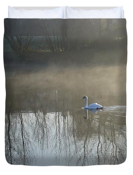 Dawn Patrol Duvet Cover by Rod Johnson