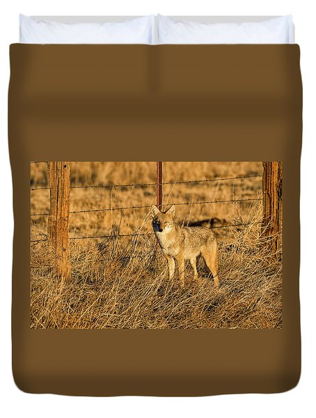 Dawn Raider Duvet Cover