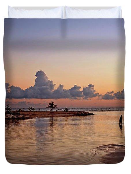Dawn Reflection Duvet Cover