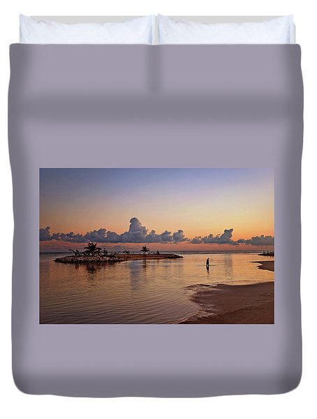 Dawn Reflection Duvet Cover