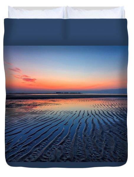 Dawn Ripples Duvet Cover