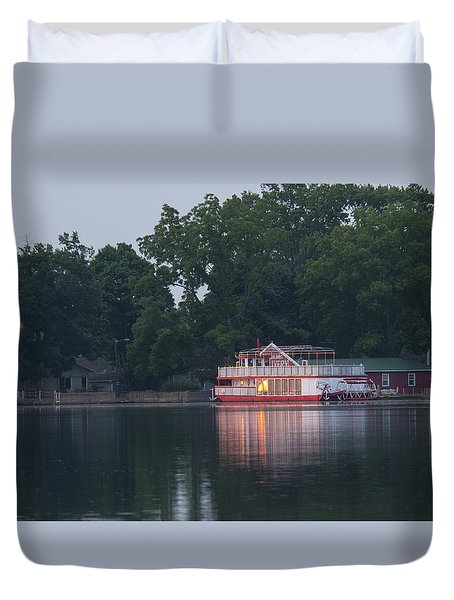 Dawn-st. Joseph River Duvet Cover