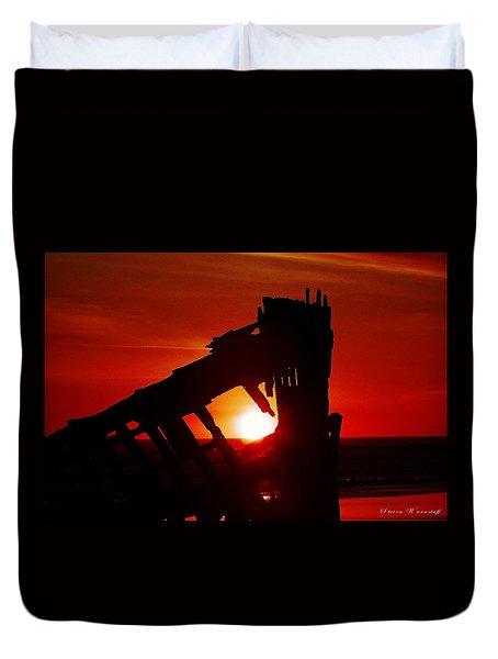 Dawning Night Duvet Cover