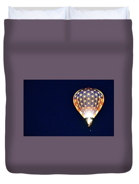 Duvet Cover featuring the photograph Dawns Early Light by AJ Schibig