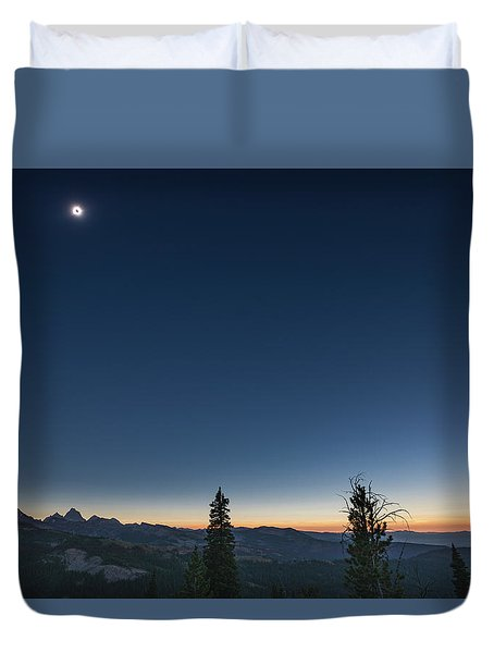 Day Becomes Night Duvet Cover