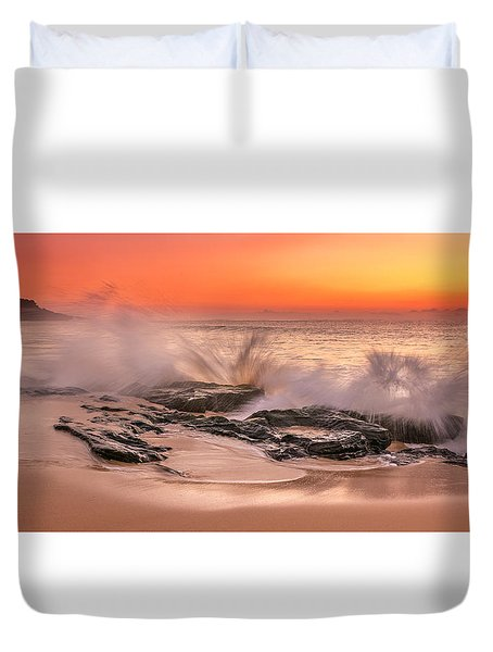 Day Break Duvet Cover by Racheal Christian