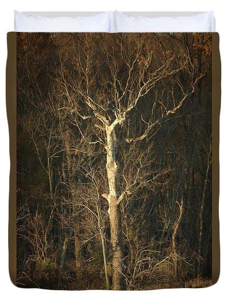 Day Break Tree Duvet Cover