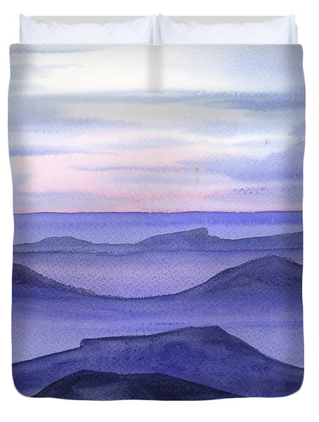 Day Break Duvet Cover by Yolanda Koh