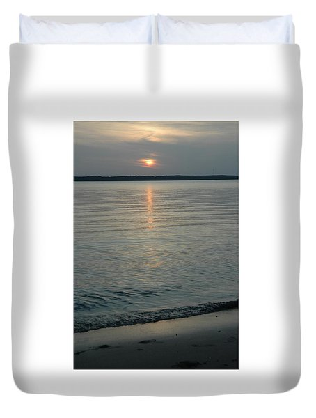 Day Done Duvet Cover
