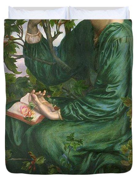 Day Dream Duvet Cover by Dante Charles Gabriel Rossetti