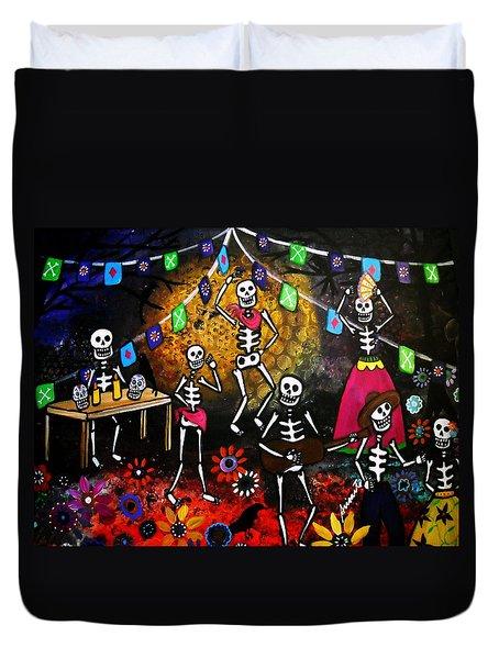 Day Of The Dead Festival Duvet Cover