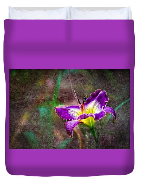 Day Of The Lily Duvet Cover