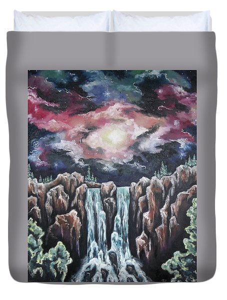 Day One, Sky Diamonds Duvet Cover