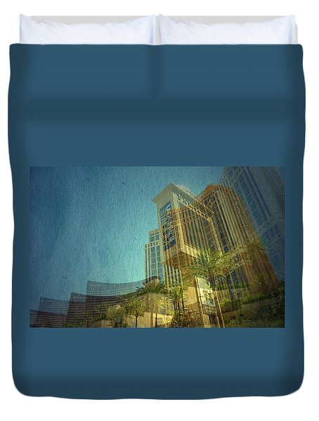 Duvet Cover featuring the photograph Day Trip by Mark Ross