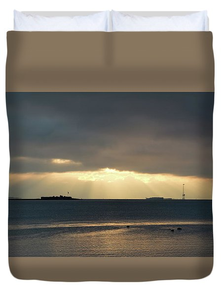 Daybreak Charleston Duvet Cover