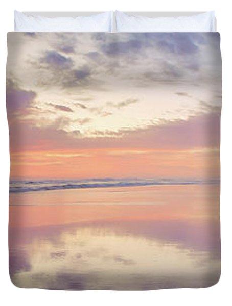 Daybreak In Paradise Duvet Cover
