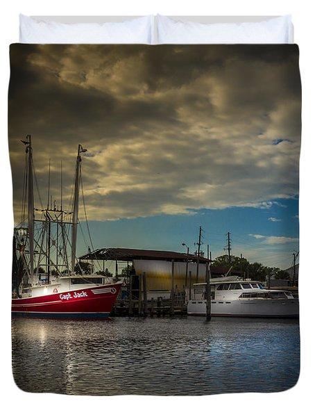 Daybreak On The Captain Jack Duvet Cover