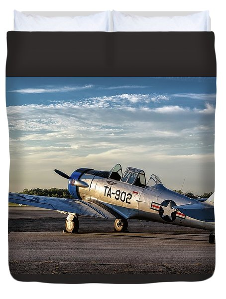 Daybreak On The Lt-6 Duvet Cover