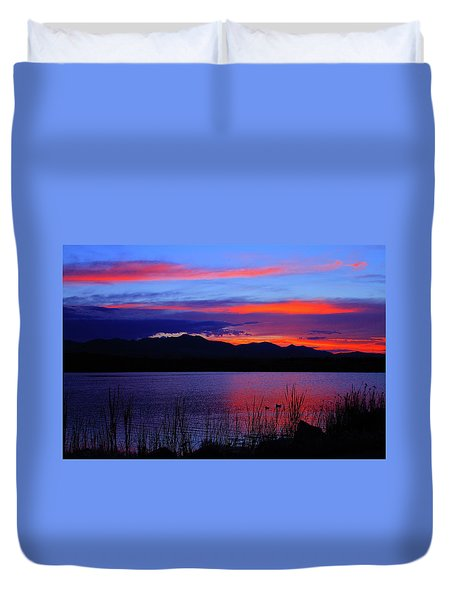 Daybreak Sunset Duvet Cover