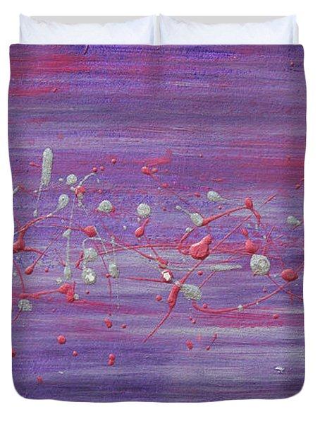 Daydream In Purple Duvet Cover