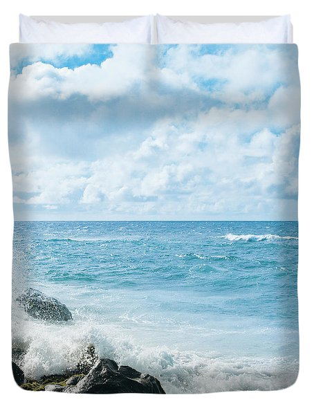 Duvet Cover featuring the photograph Daydream by Sharon Mau