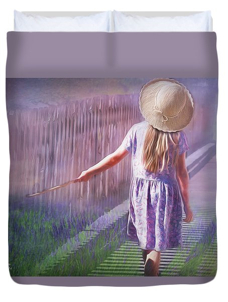 Daydreamer Duvet Cover by Wallaroo Images