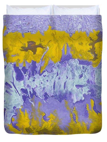 Daydreaming Duvet Cover by Georgeta  Blanaru