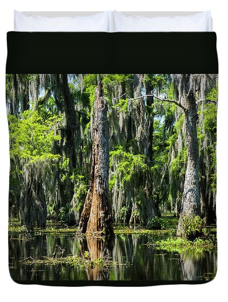Daylight Swampmares Duvet Cover