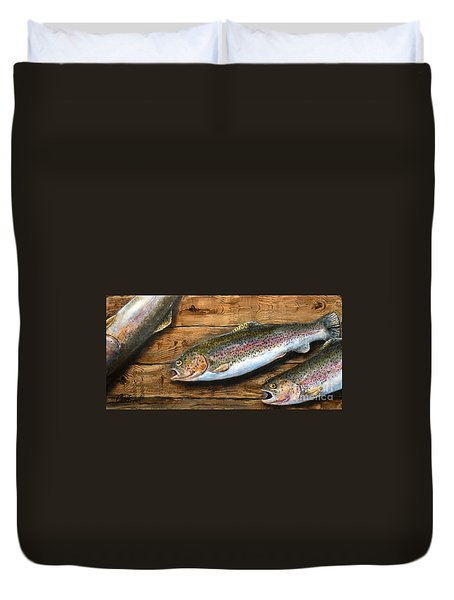 Day's Catch Duvet Cover
